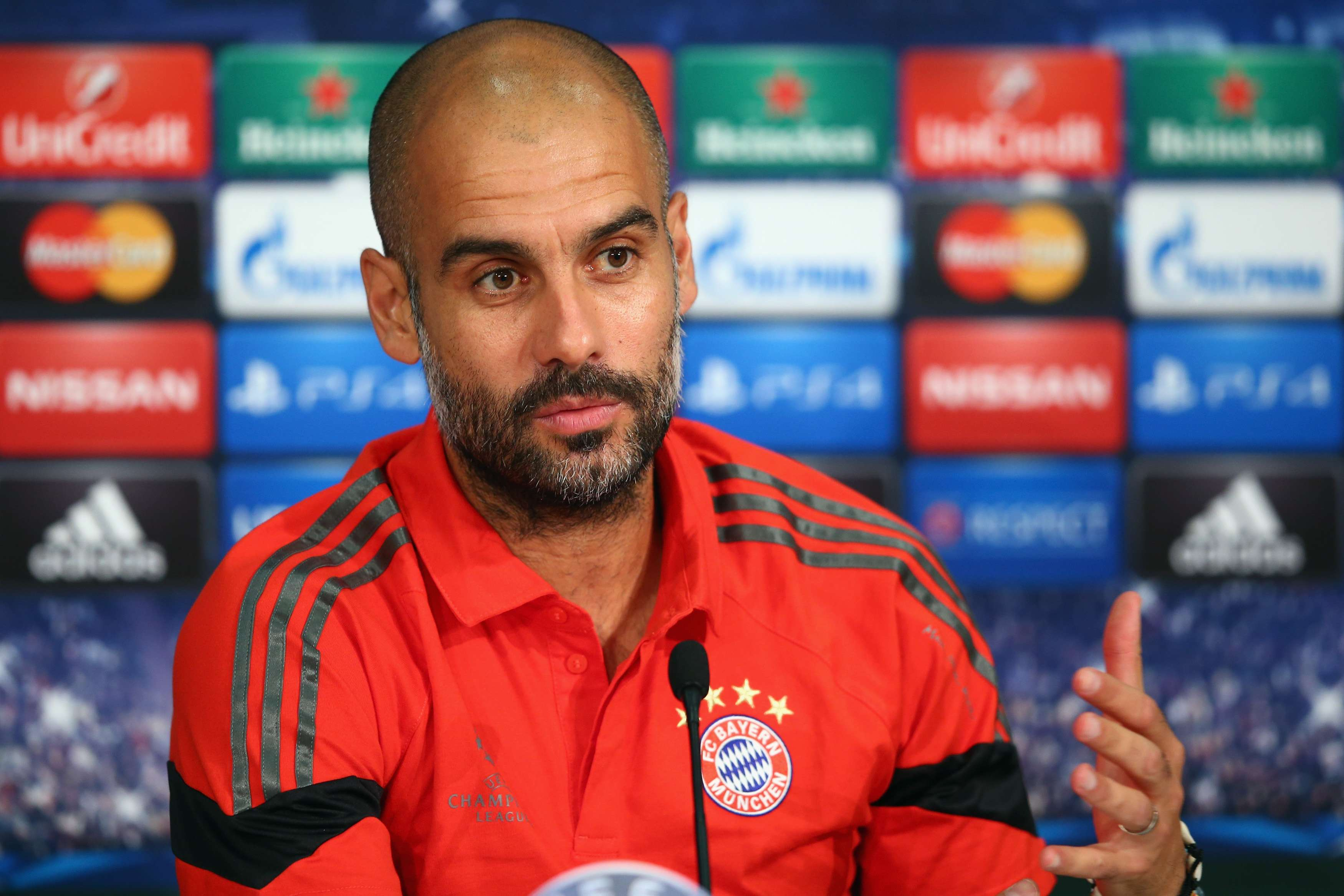 Pep Guardiola. Foto: Getty Images