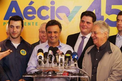 """Aécio é contra """"conivência"""" com drogas Foto: Terra Magazine"""