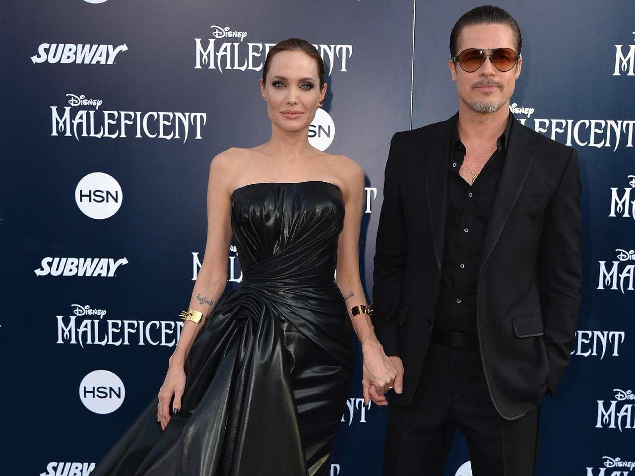 Las parejas de famosos más exitosas del mundo. Angelina Jolie y Brad Pitt. Foto: Getty Images
