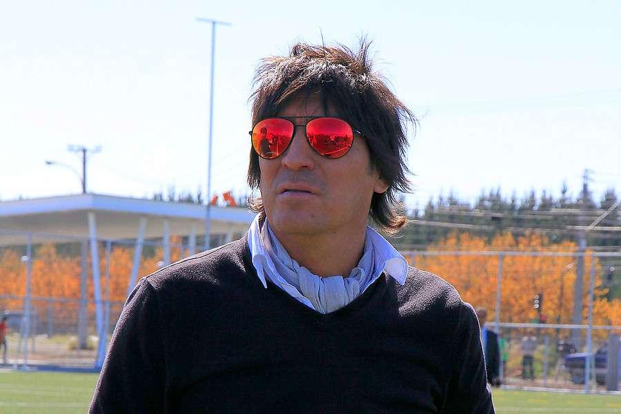 Iván Zamorano es aval y codeudor de su cuñado. Foto: Agencia UNO