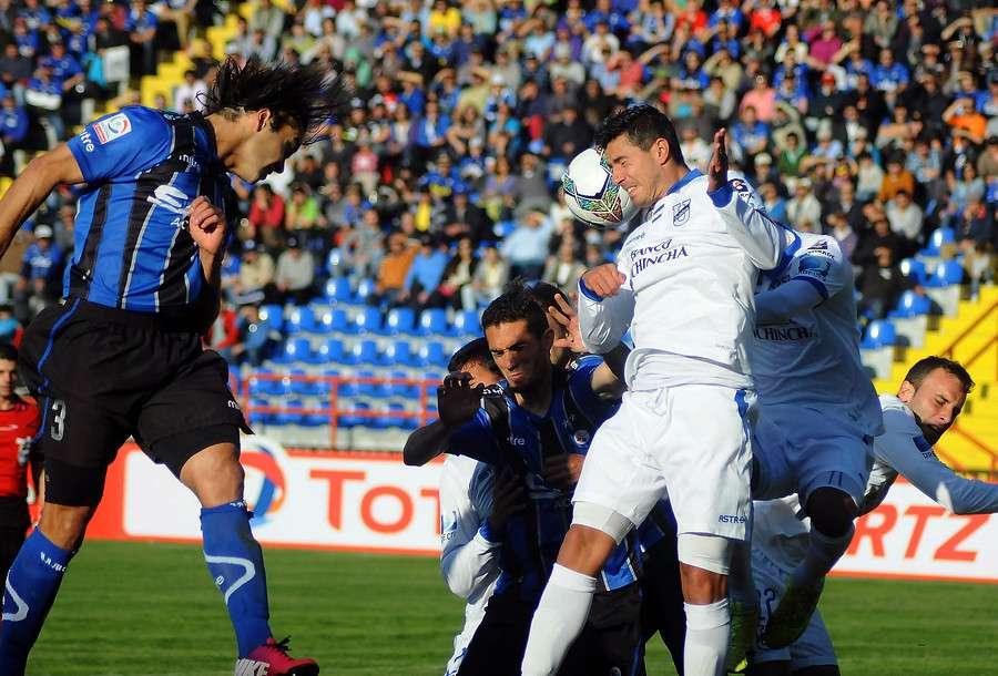 Huachipato derrotó sin apuros por 2-0 a Universidad Católica de Ecuador en el duelo de ida de la segunda ronda de Copa Sudamericana. Foto: Agencia UNO