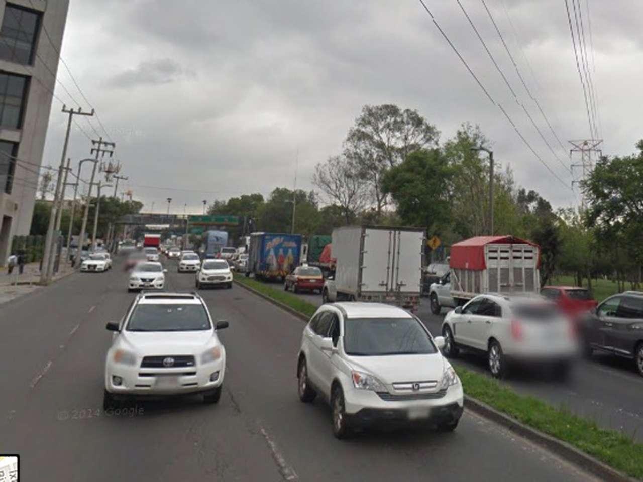 El asaltante cruzó avenida Constituyentes y escapó hacia la zona de Observatorio Foto: Imagen tomada de Google Maps