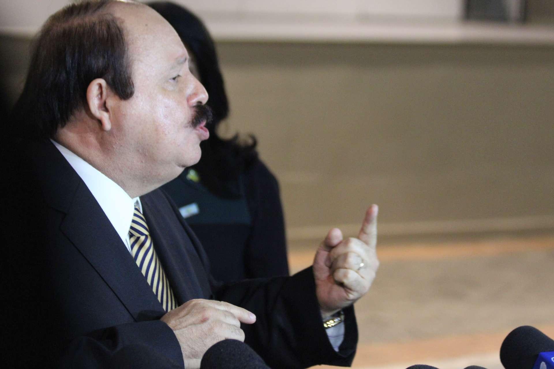 Levy Fidelix mostrou suas propostas de governo no debate Foto: Janaina Garcia /Terra