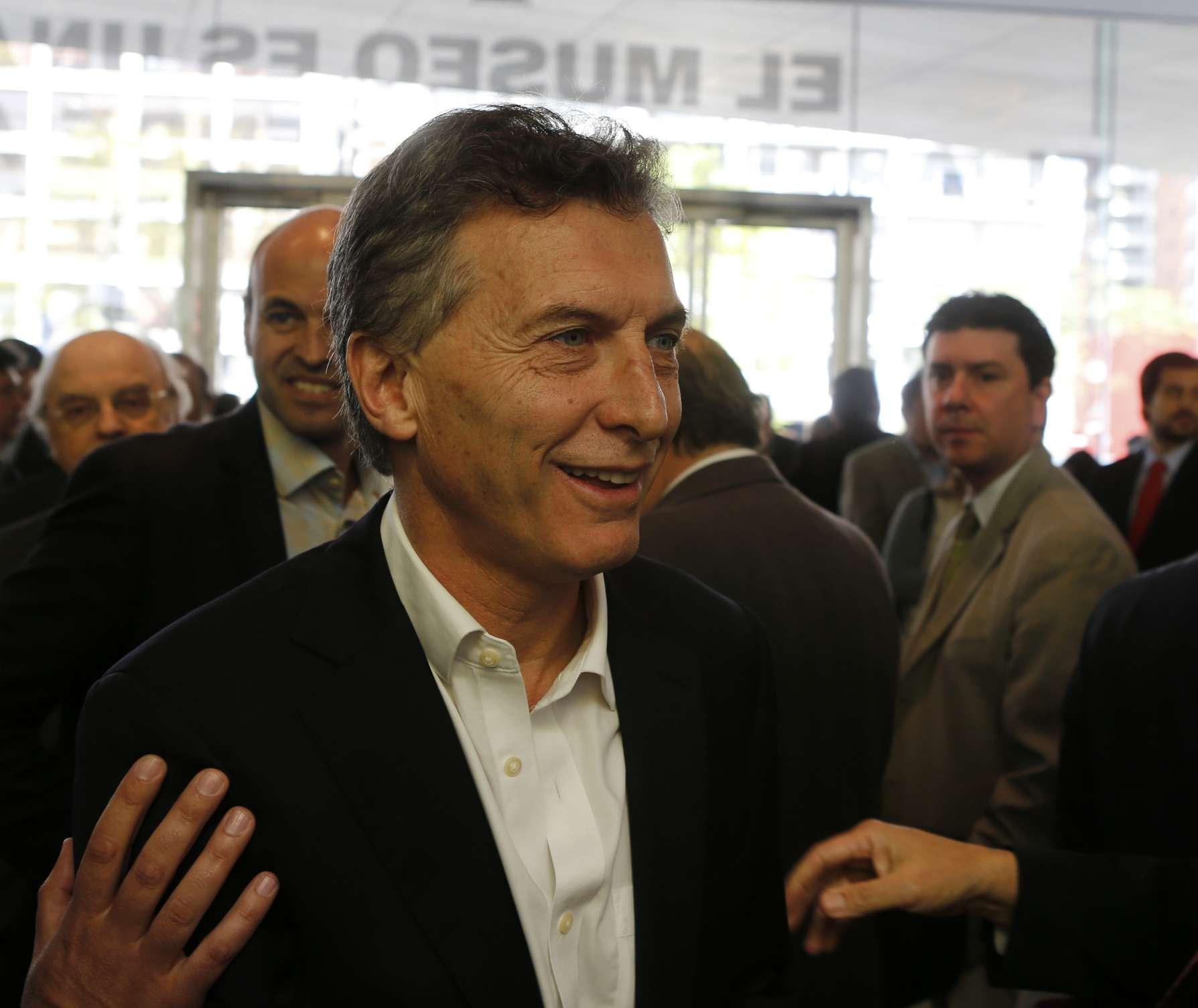 Mauricio Macri Foto: NA
