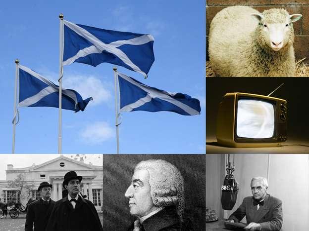 Escócia contribuiu com muitas descobertas na história Foto: BBCBrasil.com