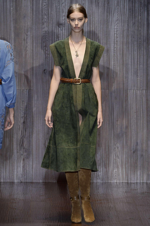 Gucci colección de moda Foto: Getty Images