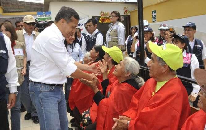 Presidente Ollanta Humala. Foto: Andina