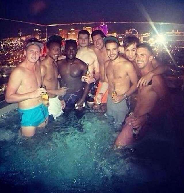 Liam Payne en Las Vegas. Foto: Mirror.co.uk