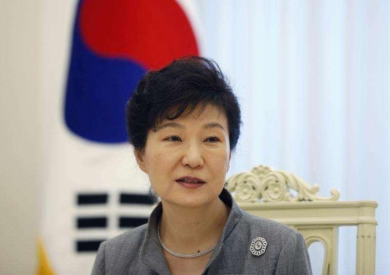 Presidente sul-coreana Park Geun-hye em entrevista à Reuters. Foto: Kim Hong-Ji/Reuters
