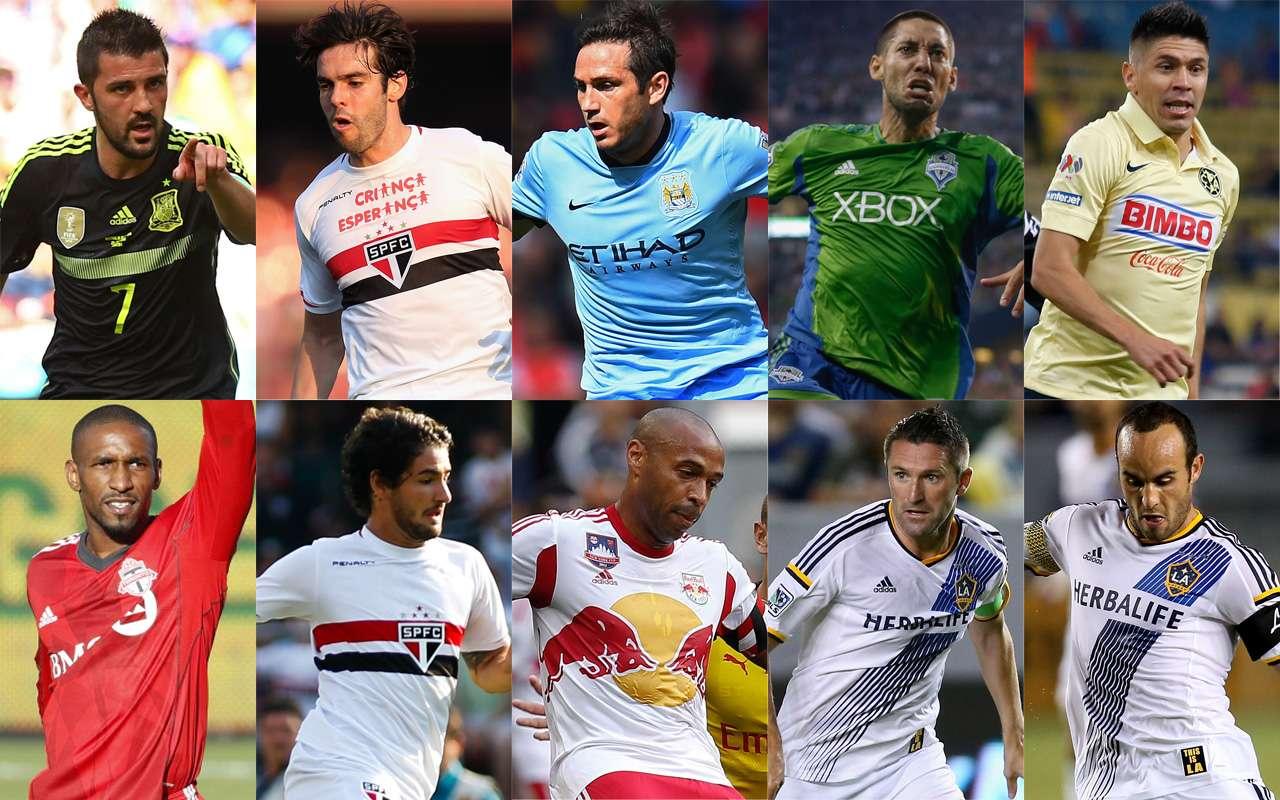 Con Frank Lampard a la cabeza, la MLS domina la lista de los 15 futbolistas mejor pagados de América. Foto: Especial/Getty Images