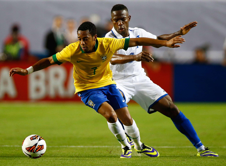 Robinho volverá a defender a 'La Canarinha'. Foto: AFP en español