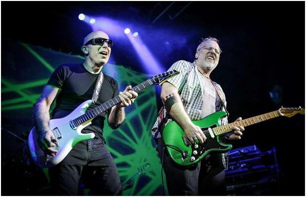 Joe Satriani Foto: Terra Colombia