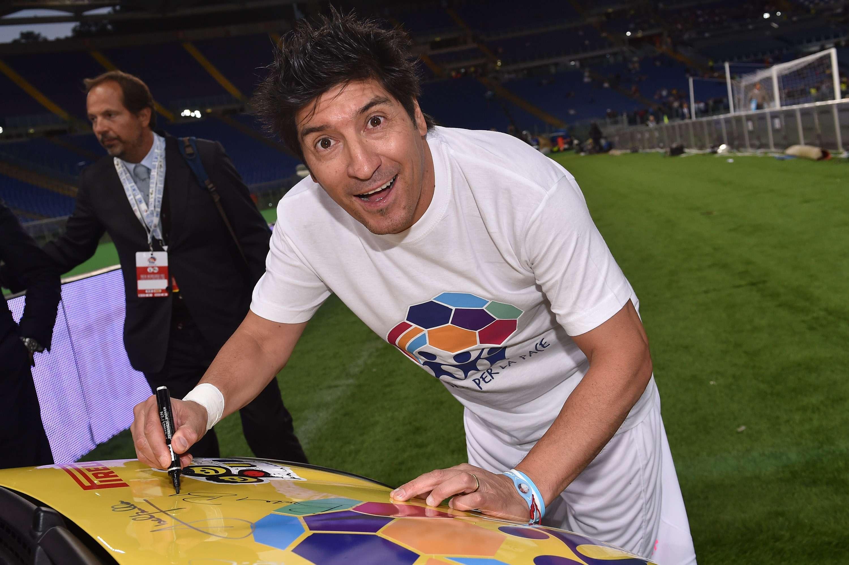 Zamorano participó en el Partido por la Paz celebrado en septiembre. Foto: Getty Images