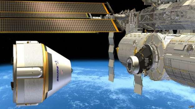 El viaje de ida y vuelta a la Estación Espacial Internacional le cuesta actualmente a la NASA US$70 millones por astronauta. Foto: BBCMundo.com