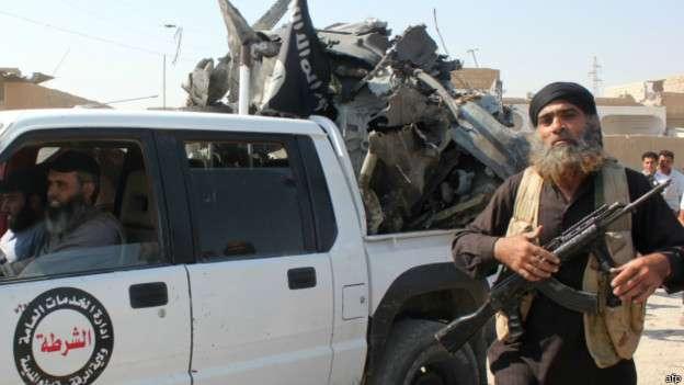 La ofensiva de Estado Islámico empezó hace pocos meses. Foto: BBCMundo.com
