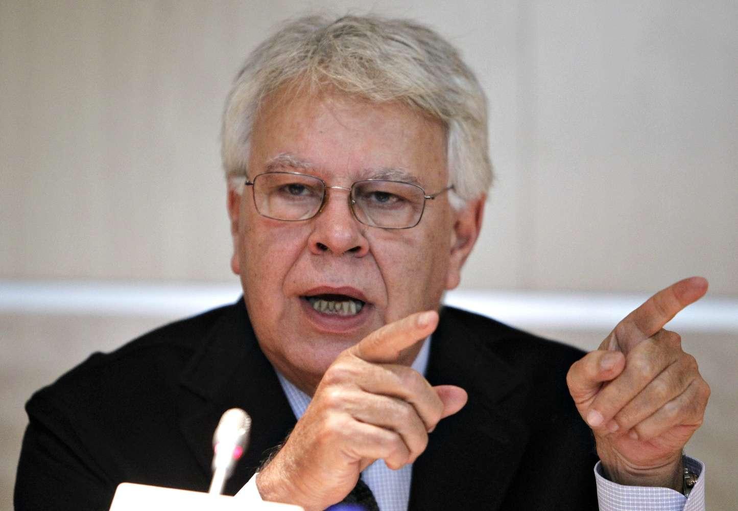 Felipe González. Foto: EFE