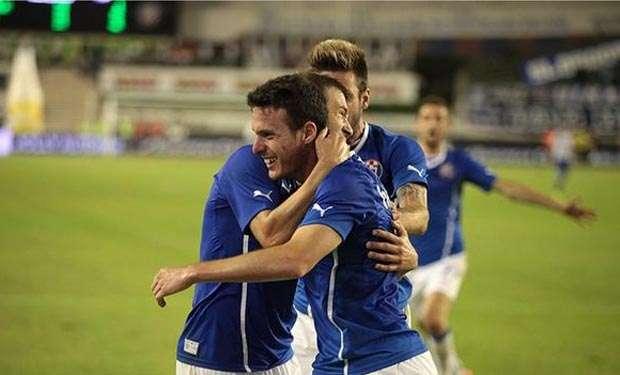 Ángelo Henríquez sigue en racha en el Dinamo de Zagreb Foto: Reuters en español