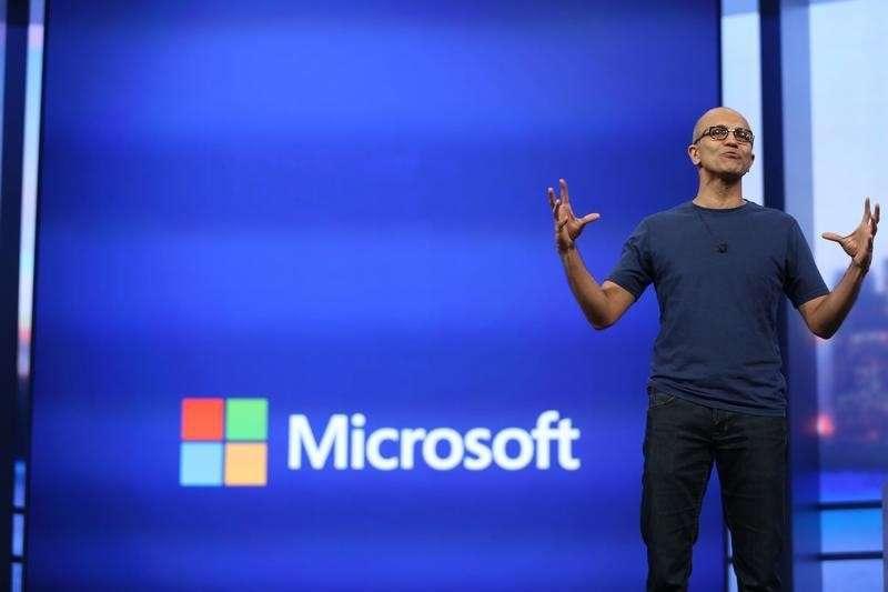 El director ejecutivo de Microsoft, Satya Nadella, busca achicar la compañía. Foto: Reuters en español