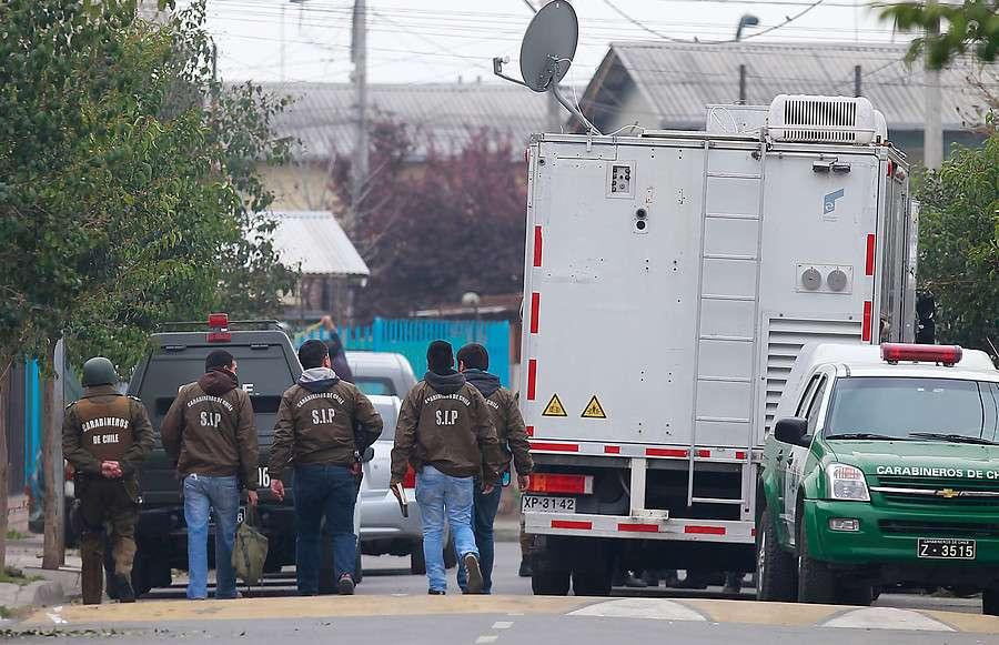 Se encuentran en la 33 comisaría de Ñuñoa. Foto: Agencia UNO