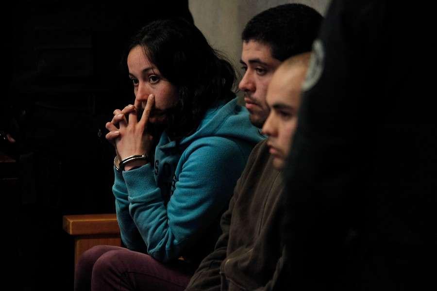 Quedarán detenidos hasta el lunes Foto: Agencia UNO