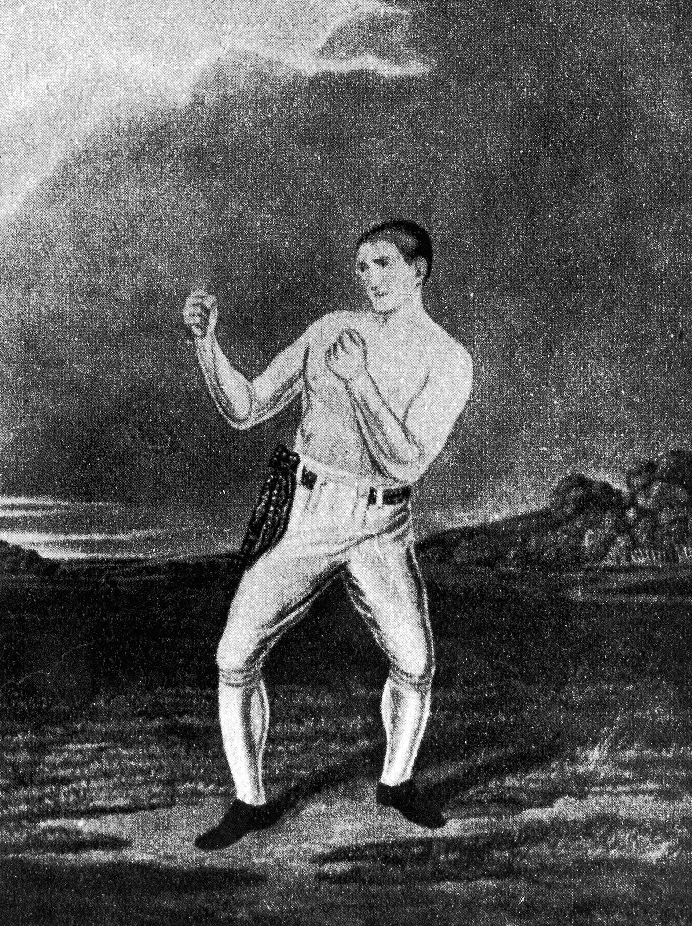 William Thompson, Bendigo, fue un boxeador inglés, que peleó entre 1832 y 1850, aunque alcanzó su momento culminante entre 1836 y 1838. Foto: Henry Guttmann/Hulton Archive/Getty Images