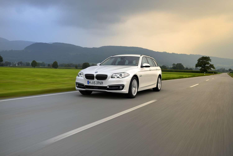 BMW 520d Touring 2015 Foto: BMW