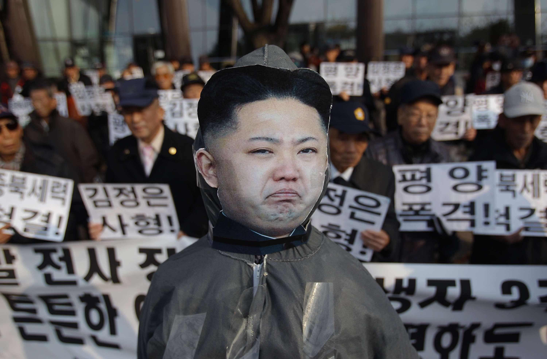 O líder norte-coreano ganhou alguns quilinhos nos últimos meses e começou a mancar Foto: Chung Sung-Jun./Getty Images