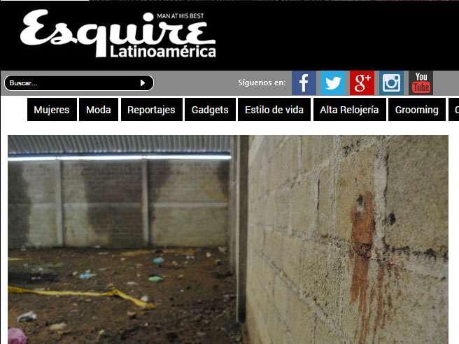 """La revista Esquire publica un reportaje, autoría de Pablo Ferri Tórtola, donde contrasta la versión oficial del hecho con la de una testigo que entrevistó bajo el seudónimo de """"Julia"""". Foto: Esquirelat.com"""