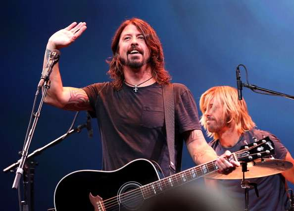 Dave Grohl de Foo Fighters se presentó en un evento especial de Apple en San Francisco, Estados Unidos, el 12 de septiembre de 2012. Foto: Justin Sullivan/Getty Images