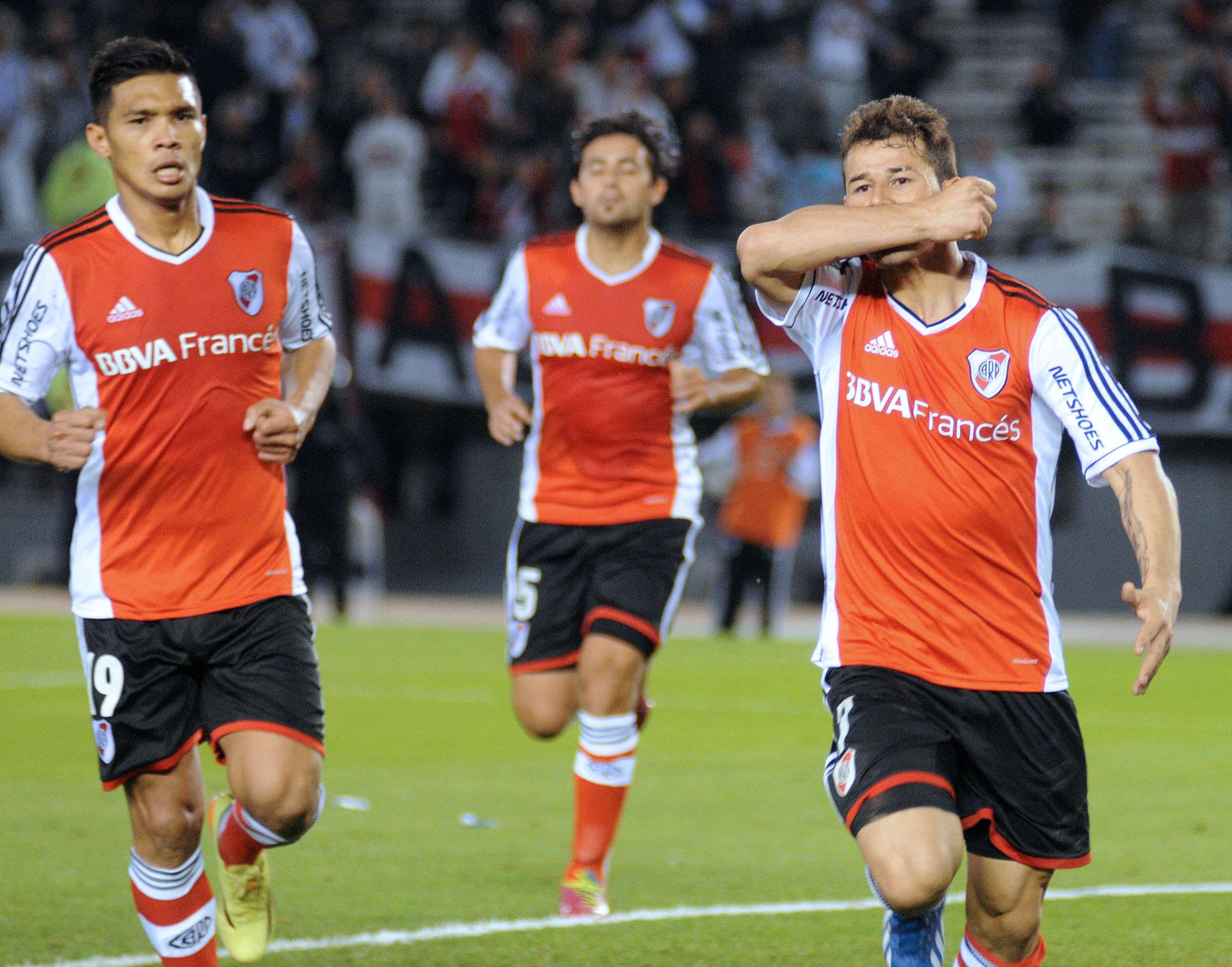 River avanza en la Copa Sudamericana Foto: Agencias