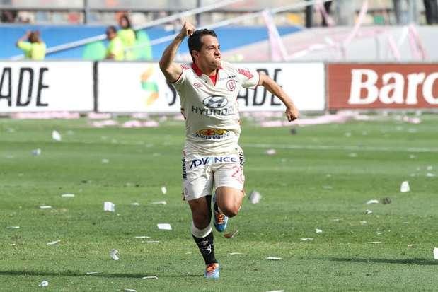 Diego Guastavino fue clave en la final del 2013 ante Real Garcilaso. Foto: Miguel Ángel Bustamante/Terra Perú