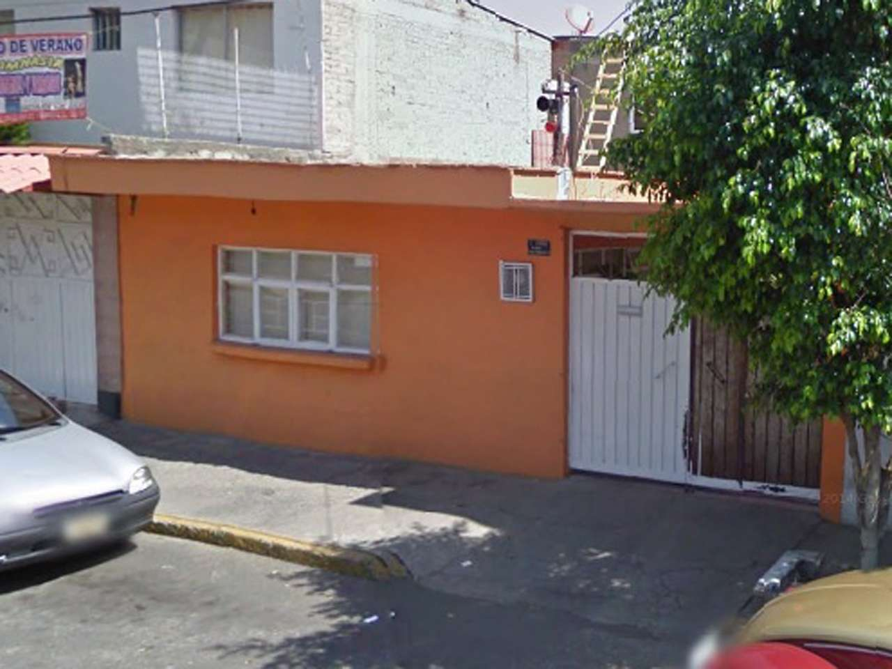 En el domicilio de Texcoco #100 fue enterrado el cuerpo de la adolescente Foto: Imagen tomada de Google Maps