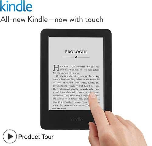 Kindle Foto: Amazon/Divulgação