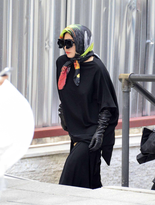 Lady Gaga se veste de muçulmana Foto: AFP
