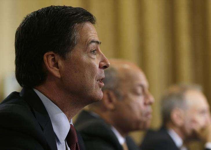 Johnson e autoridades dos EUA durante audiência em Washington nesta quarta-feira. Foto: Gary Cameron/Reuters