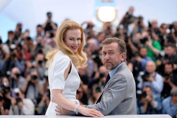 Nicole Kidman y Tim Roth asistieron a la sesión de fotos de 'Grace de Mónaco' en la 67 edición del Festival de Cannes. Foto: Pascal Le Segretain/Getty Images