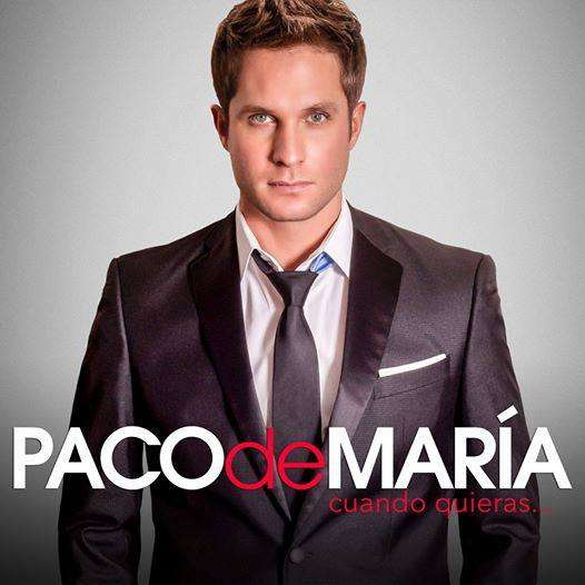Paco de María. Foto: Facebook/pacodemariaoficial