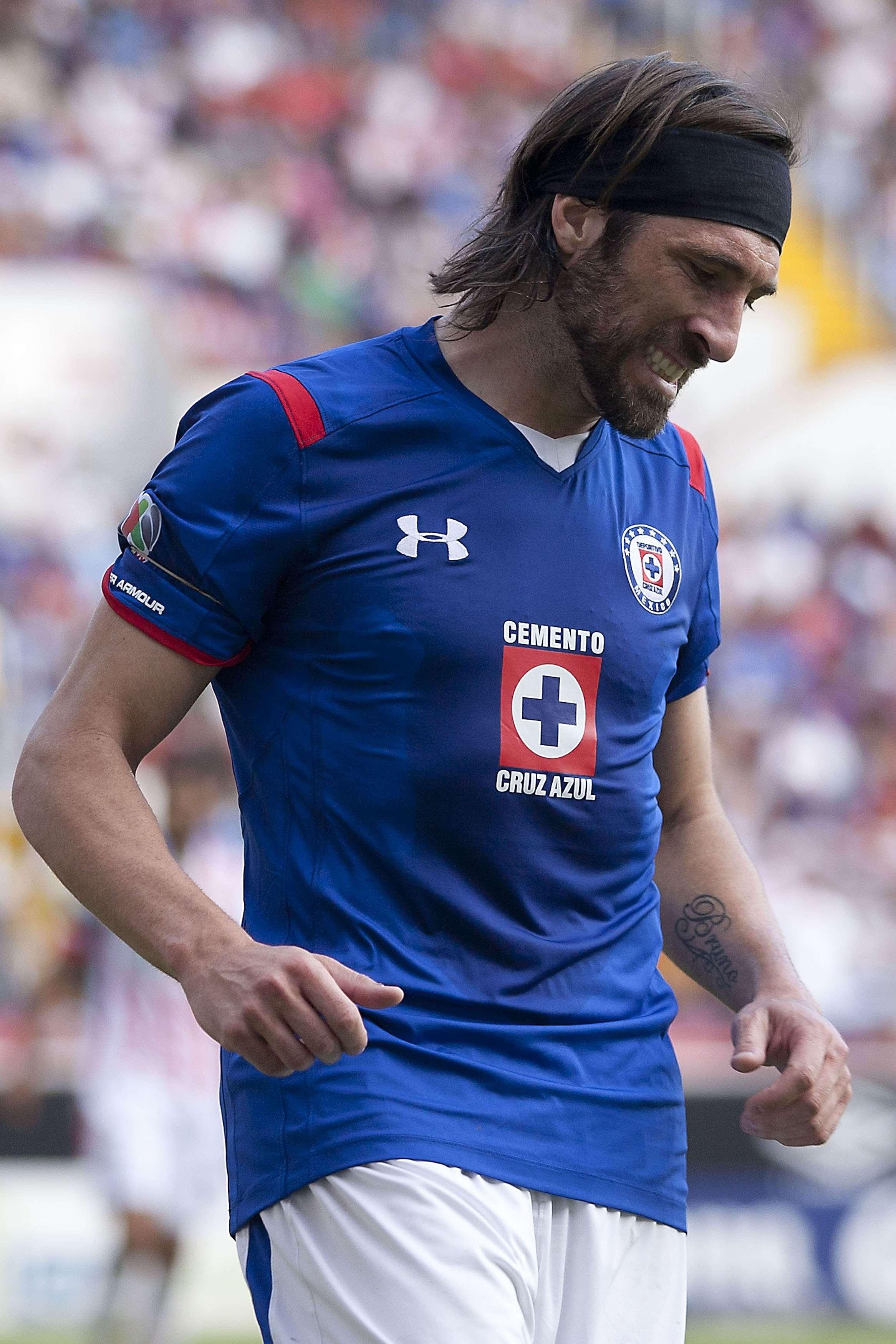 Mariano Pavone listo para volver con Cruz Azul ante el Atlas. Foto: Mexsport