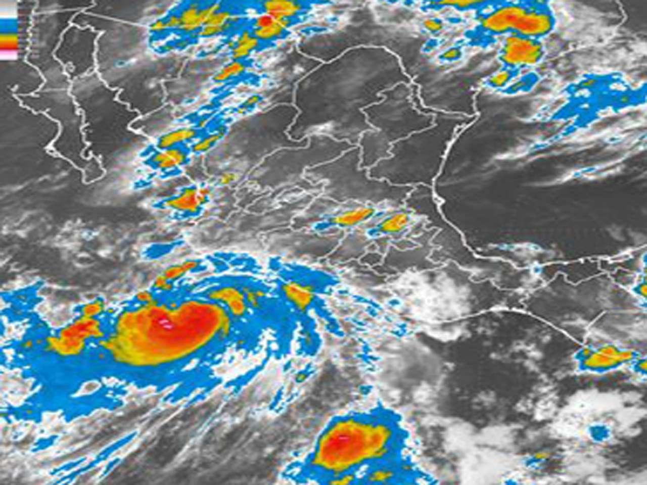 Favorecerá lluvias intensas (de 75 a 150 mm) en Jalisco y Colima; muy fuertes (de 25 a 50 mm) en Nayarit, Oaxaca, Guerrero y Michoacán Foto: Conagua