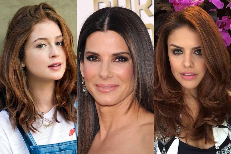 Marina, Sandra e Paloma são ícones quando o assunto é cabelo descoaldo Foto: Globo/ Shutterstock / Instagram