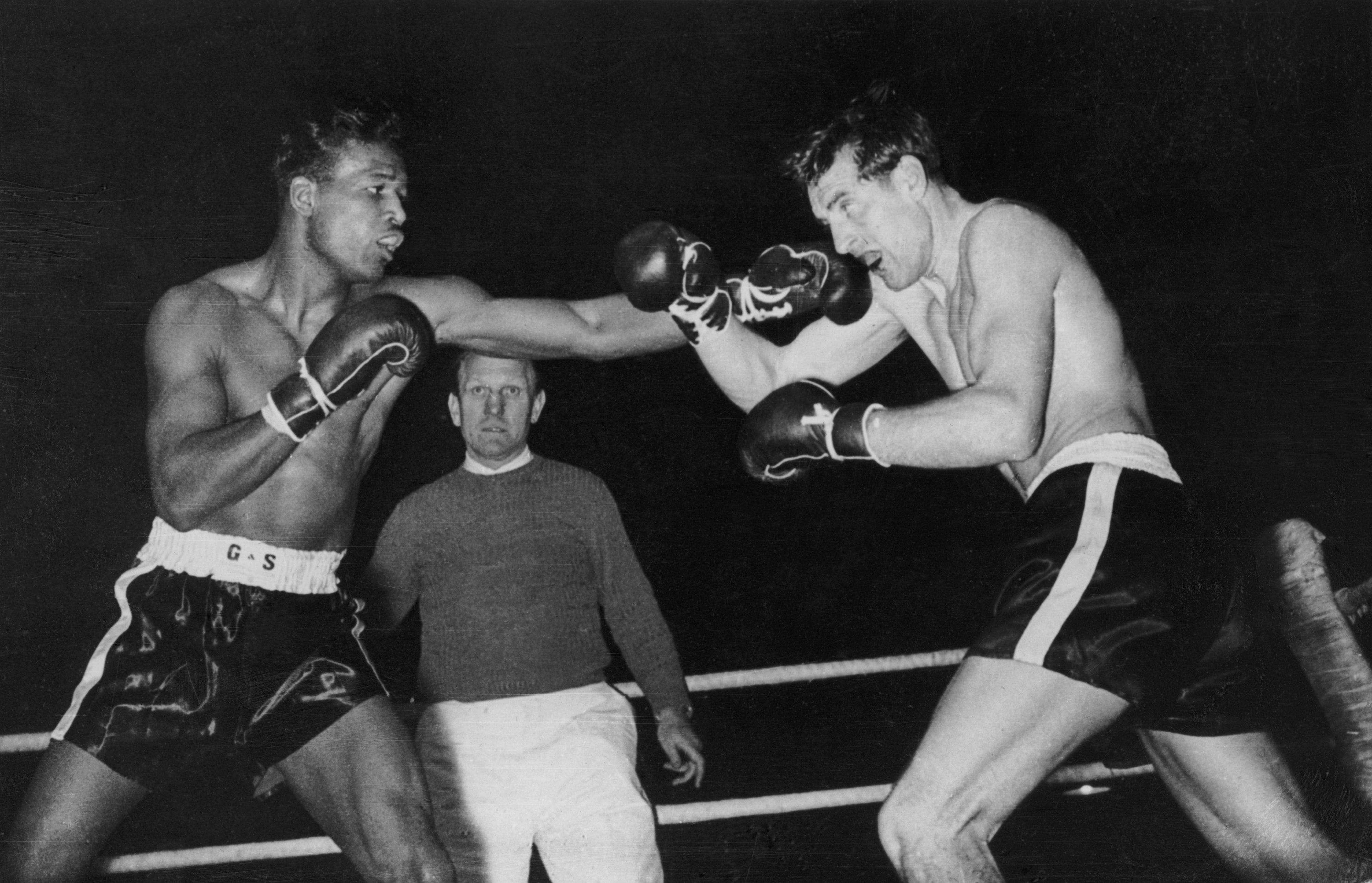 Sugar Ray Robinson fue nombrado el mejor boxeador del siglo XX. Foto: Getty Images
