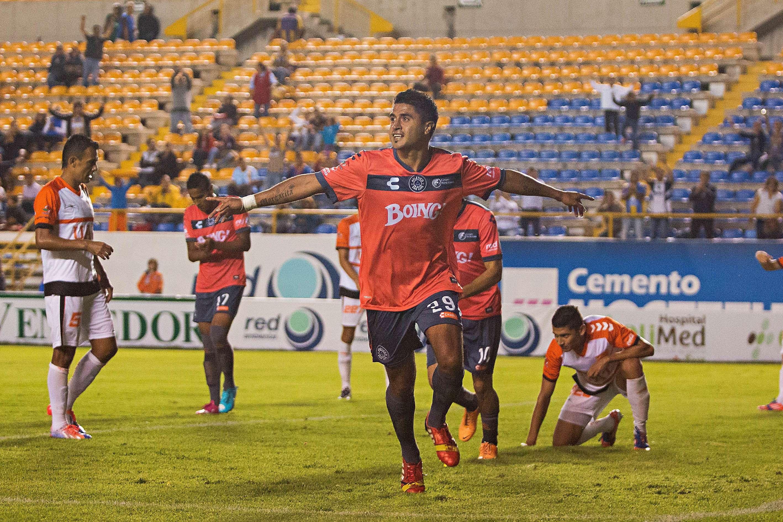 Fausto Ruiz marcó dos de los goles potosinos. Foto: Imago 7