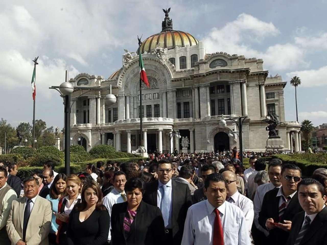 Las autoridades realizarán mañana, en punto de las 10:00 horas, el ejercicio en el que prevén participen cientos de capitalinos Foto: Archivo/Reforma