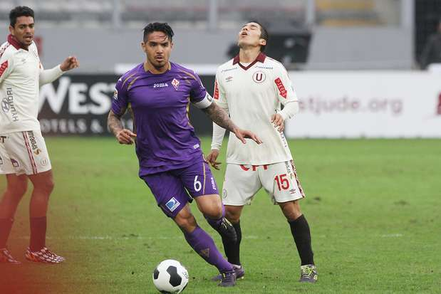 Juan Manuel Vargas cumple su séptima temporada en la Fiorentina y la décima en el fútbol italiano. Foto: Miguel Ángel Bustamante/Terra Perú