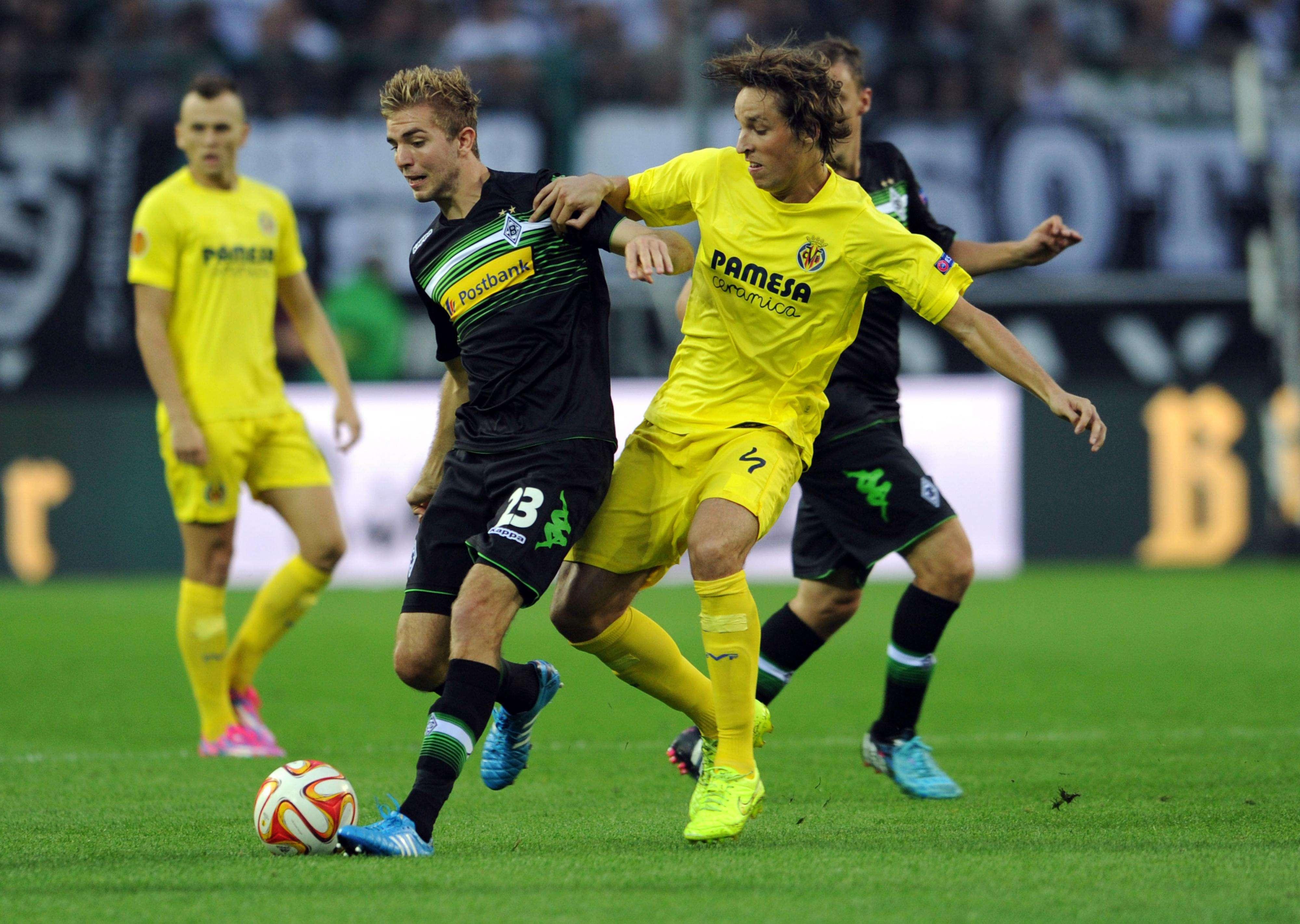 Villarreal e Borussia empataram por 1 a 1 Foto: Caroline Seidel/AFP