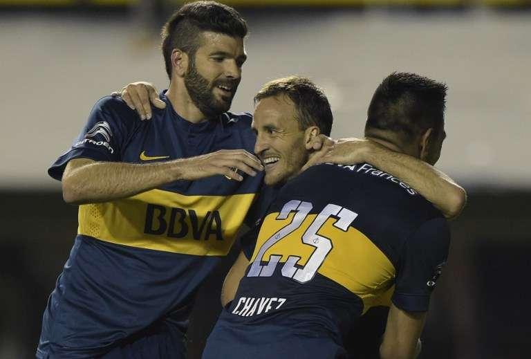 Fuebzalida inhgresó en el segundo tiempo y anotó el tercero. Foto: AFP en español