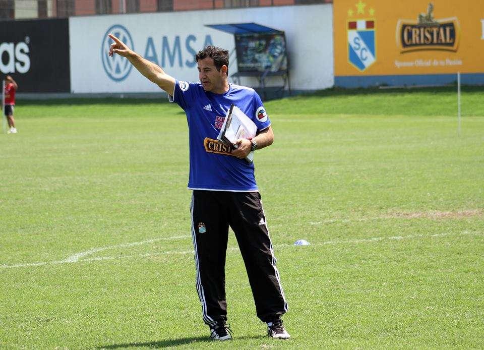 Daniel Ahmed respeta a la U pero confía en ganar. Foto: Facebook S. Cristal.