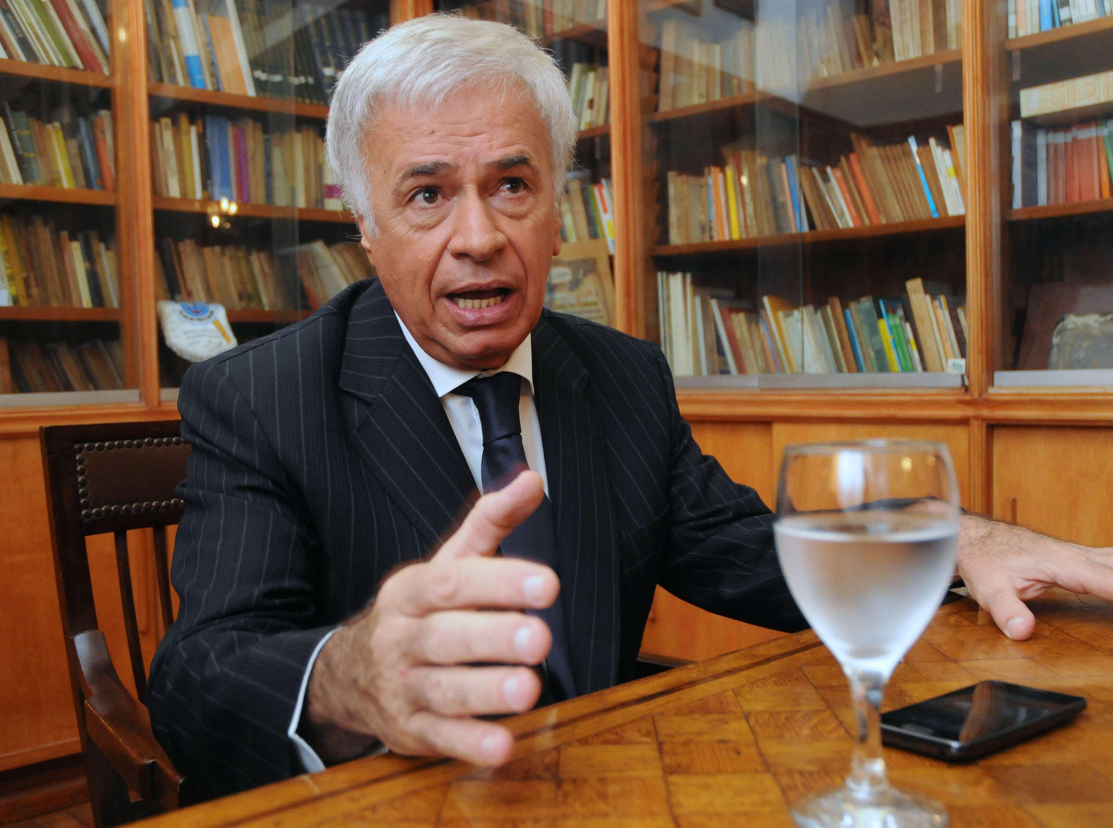 José Manuel De la Sota Foto: NA
