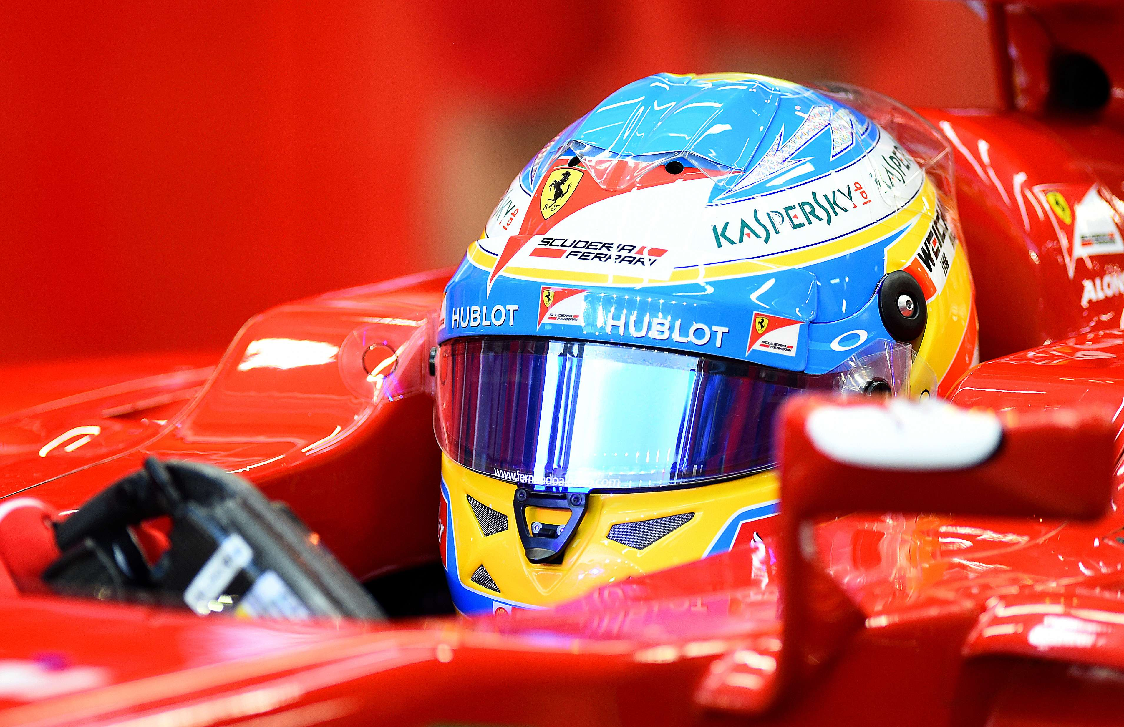 Alonso, en los libres Foto: Getty