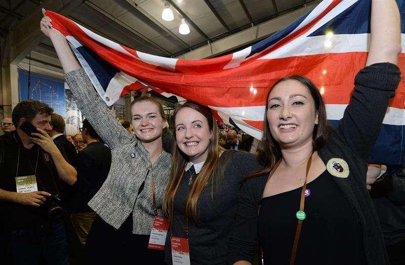 """Gana el """"no"""" a la independencia en Escocia Foto: EFE"""